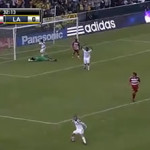 David Beckham Scores For LA Galaxy
