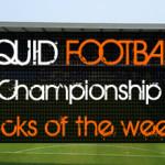 The English Championship picks of theweek