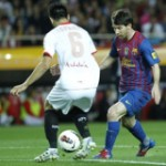 Sevilla performance will keep Barca on their toes