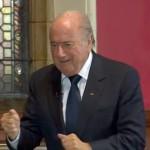 Ronaldo blasts Blatter's 'lack of respect'
