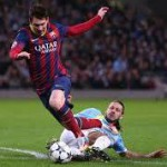 Lionel Messi Equals Raul's Champions League Goal-Scoring Record