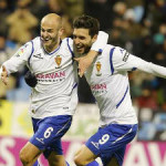 Zaragoza close in on La Liga with first leg victory over Las Palmas