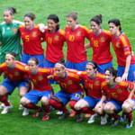 Where are Spain's women on the feminine football map?